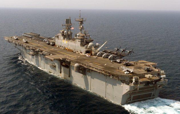 Διαψεύδουν οι ΗΠΑ: Ο 6ος στόλος δεν βρίσκεται στη Μεσόγειο για τη γεώτρηση της Exxon Mobil