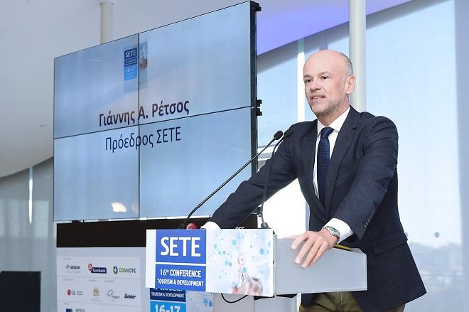 Ρέτσος: Η Ελλάδα χρειάζεται 6 δισ. ευρώ επενδύσεις στον τουρισμό