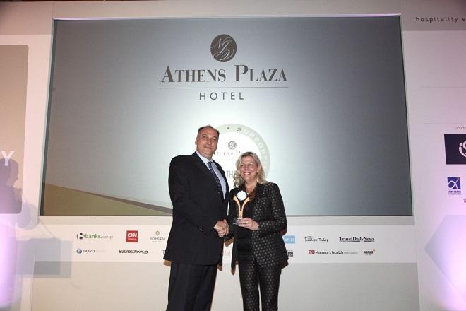 Δύο σημαντικές διακρίσεις για το NJV Athens Plaza στα Greek Hospitality Awards 2018