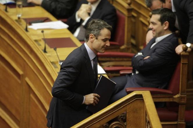 Απορρίπτει τελικώς η ΝΔ την πρόταση Τσίπρα για διακαναλικό debate για τη Συμφωνία των Πρεσπών