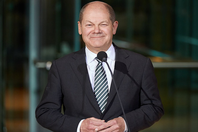 Olaf Scholz becomes provisional party leader of SPD