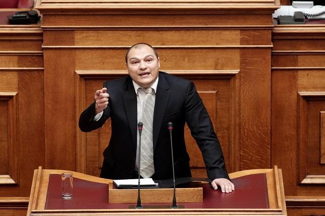 Ποινή φυλάκισης 4 μηνών με αναστολή για τον βουλευτή της Χρυσής Αυγής Γ. Γερμενή