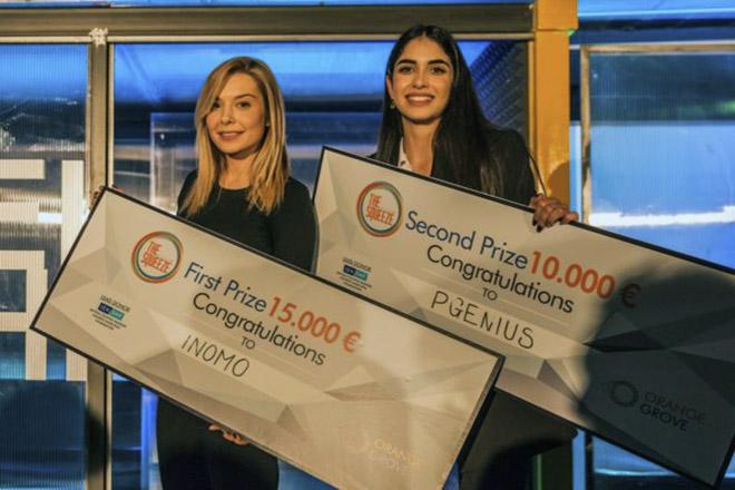 Νικήτρια η γυναικεία επιχειρηματικότητα στο τελευταίο «Squeeze» του Orange Grove