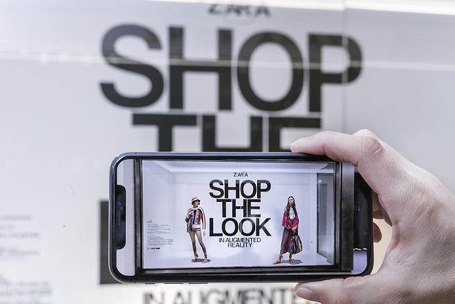 Η Zara φέρνει την επαυξημένη πραγματικότητα στα καταστήματά της