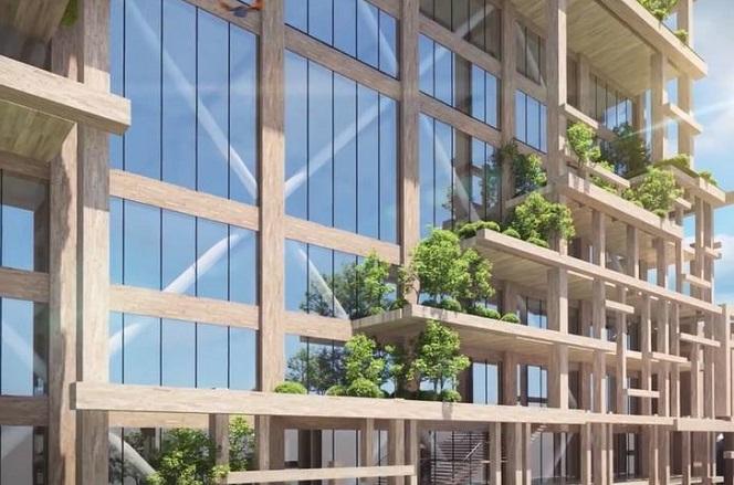 Ένας ουρανοξύστης ύψους 350 μέτρων από ξύλο στο Τόκιο