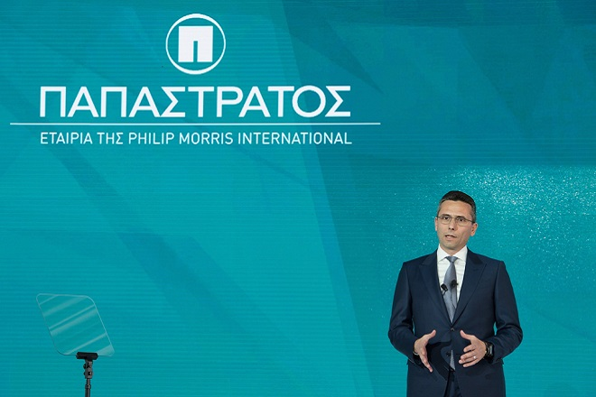 Δέσμευση της «Παπαστράτος» να συνεχίσει τις επενδύσεις της στην ελληνική οικονομία