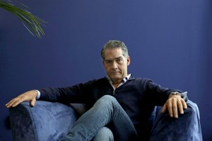 epa04600844 British bestselling author Philip Kerr poses during an interview with Spanish news agency EFE on the occassion of the releasing in Spain of his latest novel 'The Winter Horses' in Barcelona, north-eastern Spain, 02 February 2015.  EPA/Alberto Estevez