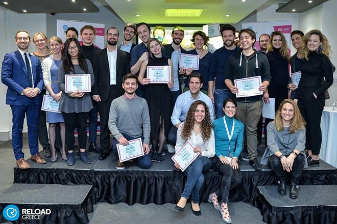 Young Entrepreneurs Programme: Οι μεγάλοι νικητές του τελικού από το Reload Greece