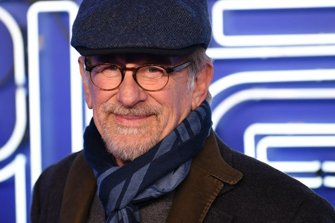 epa06614737 US director Steven Spielberg attends the European premiere of his movie 'Ready Player One' in London, Britain, 19 March 2018. The film is released in the UK on 30 March.  EPA/NEIL HALL
