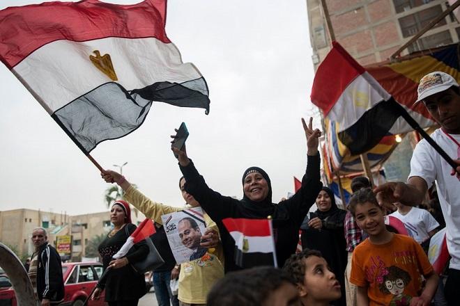 Επανεκλογή του Αμπντέλ Φατάχ αλ-Σίσι στην ηγεσία της Αιγύπτου