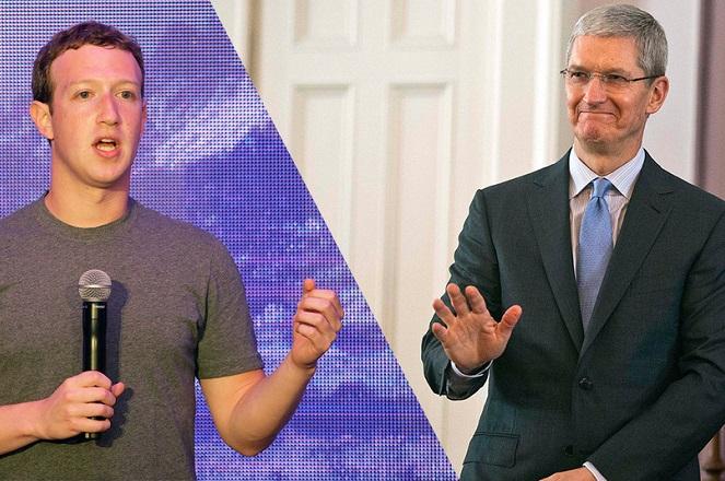 Η απάντηση-«χαστούκι» του Ζούκερμπεργκ στον Τιμ Κουκ της Apple