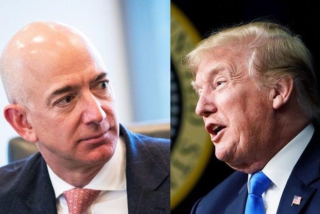 Η εμμονή του Ντόναλντ Τραμπ με την Amazon κοστίζει δισ. δολάρια στον Τζεφ Μπέζος