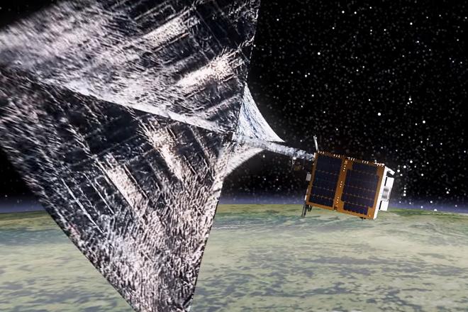 Εκτοξεύθηκε ο ευρωπαϊκός πιλοτικός «κυνηγός» διαστημικών σκουπιδιών RemoveDebris