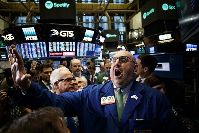 Οι μεγαλύτεροι κερδισμένοι από τη μετοχή της Spotify