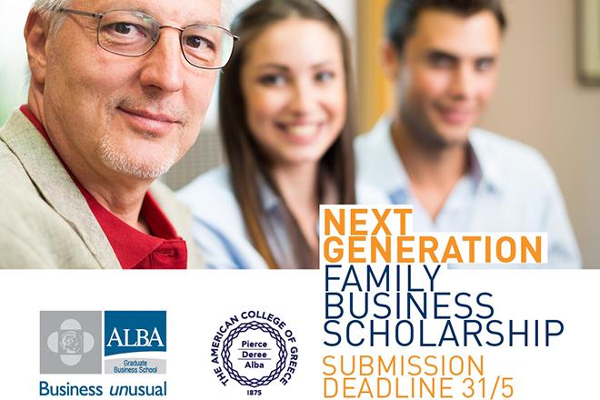 Next Generation Family Business Scholarship