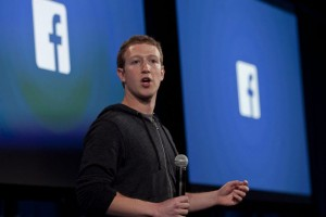 epa05614707 (FILE) A file picture dated 04 April 2013, shows Facebook co-founder and CEO Mark Zuckerberg speaking during an event at the Facebook headquarters in Menlo Park, California, USA. Social media giant Facebook on 02 November 2016 posted for its Q3 of 2016's adjusted earnings of 1.09 US dollars per share on revenue of some seven billion US dollars and an advertising revenue of 6.82 billionUS dollars, outperfoming analysts' expectations.  EPA/PETER DASILVA *** Local Caption *** 52556509