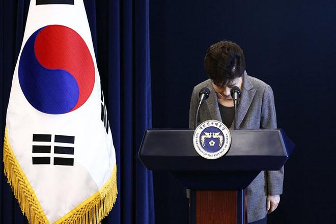 Ένοχη για κατάχρηση εξουσίας η πρώην πρόεδρος της Νότιας Κορέας