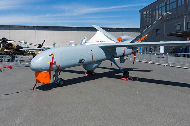 Ελληνικά F-16 αναχαίτισαν για πρώτη φορά τουρκικό drone πάνω από το Αιγαίο