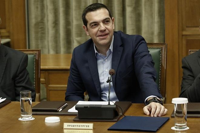 Ο πρωθυπουργός Αλέξης Τσίπρας παρευρίσκεται στο υπουργικό συμβούλιο, στην Βουλή, Αθήνα,  Μ.Τρίτη 3 Απριλίου 2018.  ΑΠΕ-ΜΠΕ/ΑΠΕ-ΜΠΕ/ΓΙΑΝΝΗΣ ΚΟΛΕΣΙΔΗΣ