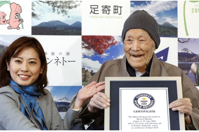 Νέο ρεκόρ Γκίνες: Αυτός είναι ο γηραιότερος άνδρας στον κόσμο