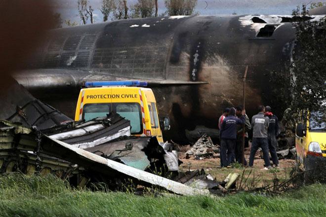 Στους 257 ο τραγικός απολογισμός των θυμάτων του αεροπορικού δυστυχήματος στην Αλγερία