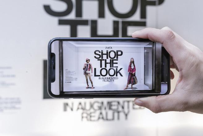 Zara «επαυξημένης πραγματικότητας» και στα καταστήματα της Αθήνας