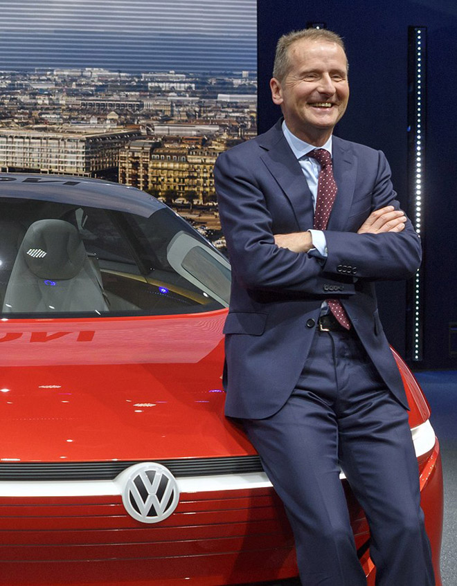 Volkswagen replaceS chief executive Matthias Mueller with current brand manager Herbert Diess