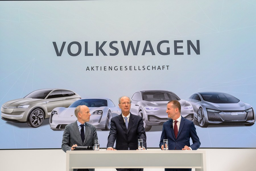 Volkswagen appoints new CEO
