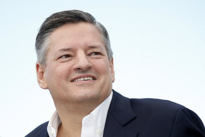 epa05978254 Netflix CEO Ted Sarandos poses during the photocall for  'The Meyerowitz Stories' during the 70th annual Cannes Film Festival, in Cannes, France, 21 May 2017. The movie is presented in the Official Competition of the festival which runs from 17 to 28 May.  EPA/SEBASTIEN NOGIER