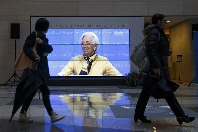 Λαγκάρντ: Το ΔΝΤ θα συνεχίσει να στηρίζει την Ελλάδα με τους δικούς του όρους