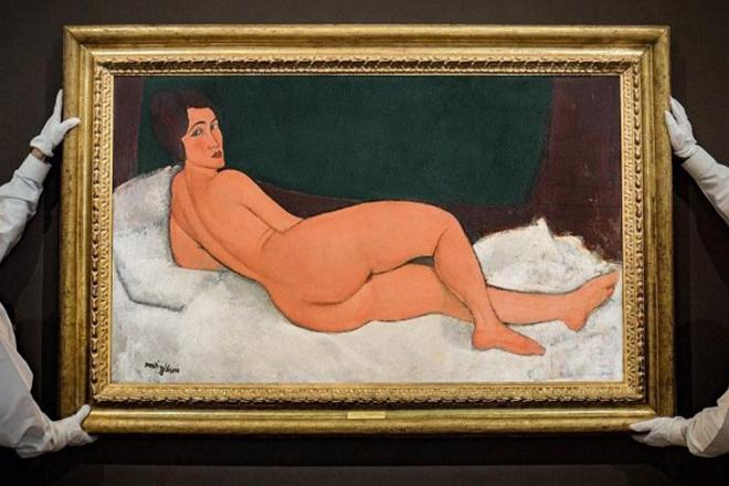 Πόσο πουλήθηκε το «Ξαπλωμένο γυμνό» του Μοντιλιάνι