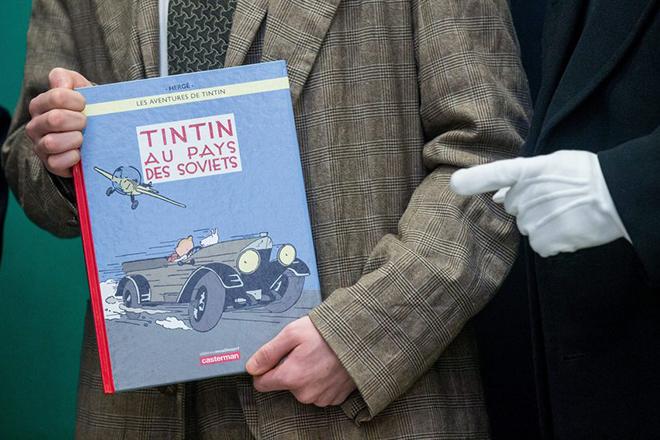 Σπάνιο σκίτσο του δημιουργού του Τεντέν πουλήθηκε για εκατοντάδες χιλιάδες ευρώ