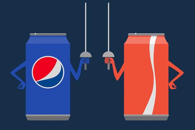 Coca-Cola VS Pepsi: Ο ανταγωνισμός δεν λέει να κοπάσει