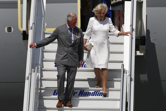 Η ιστορική επίσκεψη του πρίγκιπα Κάρολου και της συζύγου του Καμίλα στην Αθήνα (Φωτογραφίες)