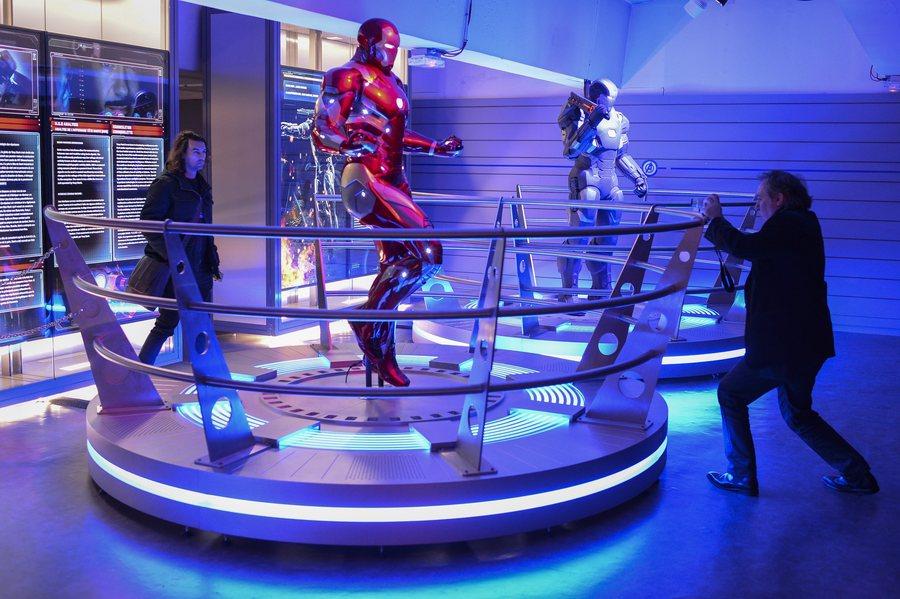 Ποιος έκλεψε τη στολή του Iron Man;