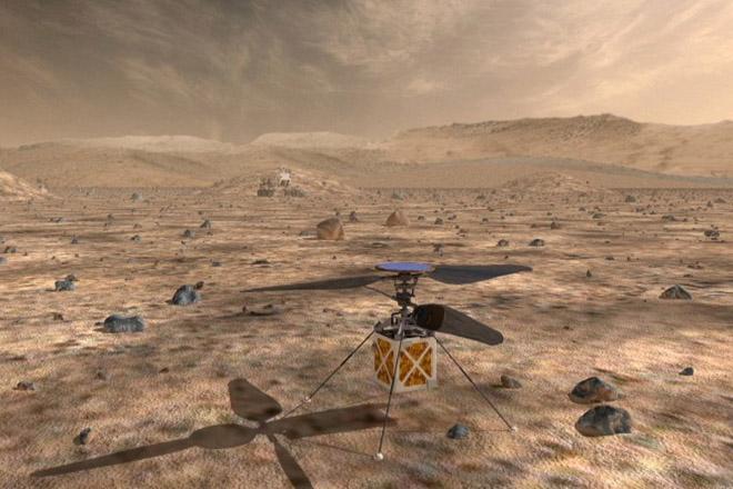 Eλικόπτερο θα στείλει για πρώτη φορά στον Άρη η NASA