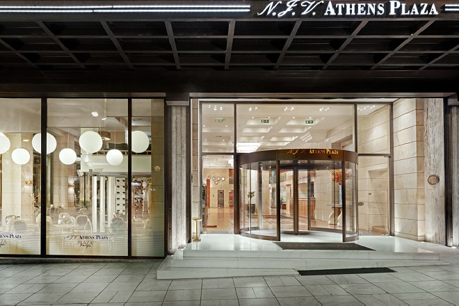 Βράβευση του NJV Athens Plaza για το φιλανθρωπικό του έργο