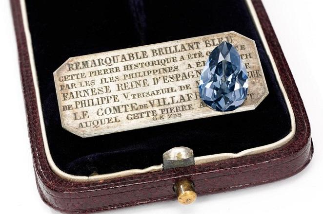 Το «βασιλικό» διαμάντι Μπλε Φαρνέζε πωλήθηκε για 6,7 εκατομμύρια δολάρια