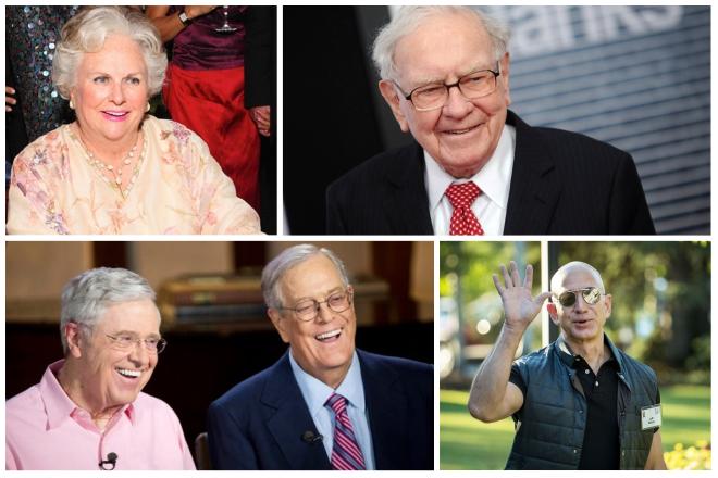 Νέα λίστα: Αυτοί είναι οι πλουσιότεροι άνθρωποι του πλανήτη