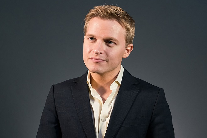 PHILADELPHIA, PA - OCTOBER 06:  Activist, journalist, lawyer, Ronan Farrow attends the Forbes Under 30 Summit at Pennsylvania Convention Center on October 6, 2015 in Philadelphia, Pennsylvania.  (Photo by Gilbert Carrasquillo/Getty Images)