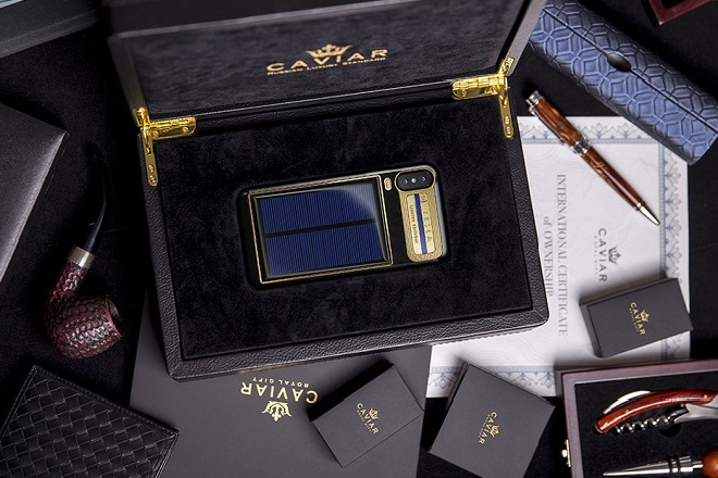 tesla iphone caviar 2