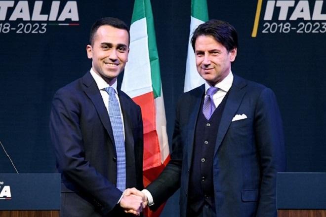 Συγκυβέρνηση Λέγκας-Πέντε Αστεριών στην Ιταλία με πρωθυπουργό τον Τζουζέπε Κόντε
