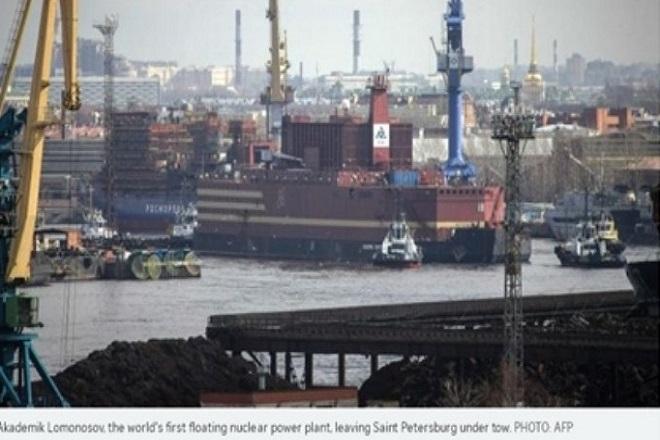 Ο πρώτος ρωσικός πλωτός πυρηνικός σταθμός παραγωγής ενέργειας έφθασε στην Αρκτική