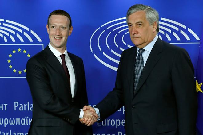 Η κατάθεση του Μαρκ Ζούκερμπεργκ στο Ευρωπαϊκό Κοινοβούλιο