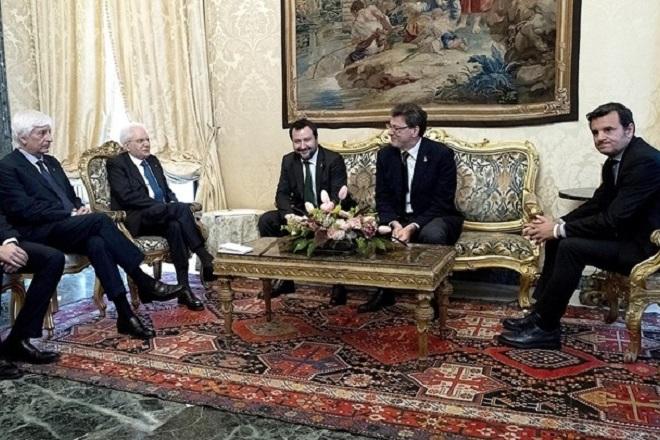 Συνάντηση Ματαρέλα με τους προέδρους βουλής και γερουσίας