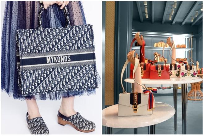 O οίκος Dior σχεδιάζει ρούχα και αξεσουάρ με αποκλειστικό θέμα τη Μύκονο