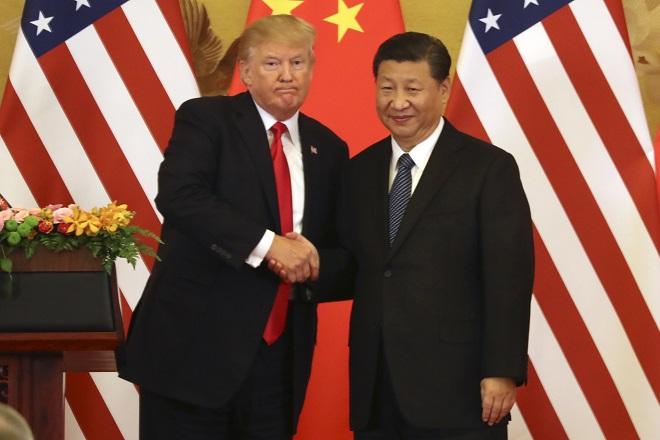 trump xi jinping china usa τραμπ κινα ηπα