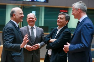 Eurogroup Finance Ministers meeting in Brussels
