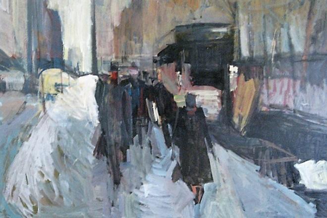 Πώς έβλεπε ο ζωγράφος Κώστας Λούστας τη Νέα Υόρκη προβάλει η έκθεση του ΜΜΣΤ