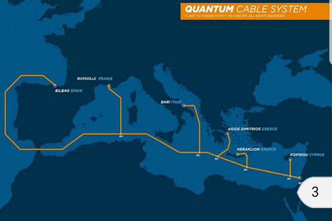 Quantum Cable: Το υποθαλάσσιο καλώδιο που θα συνδέει Ισραήλ, Κύπρο, Ελλάδα, Ισπανία